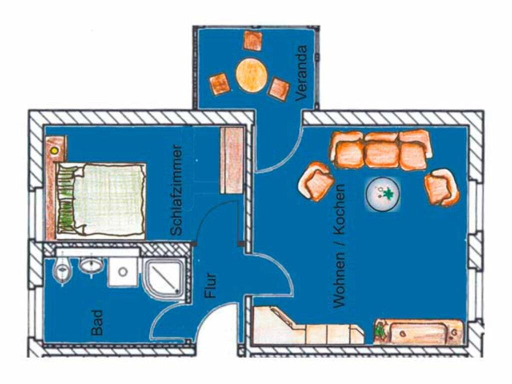 (Brise) Villa Emmi, Emmi 2-Zi-App. 3