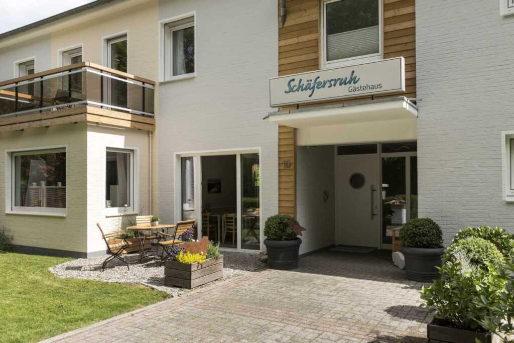Gästehaus Schäfersruh, 1-Raum App. Nr. 1, 25 m², O