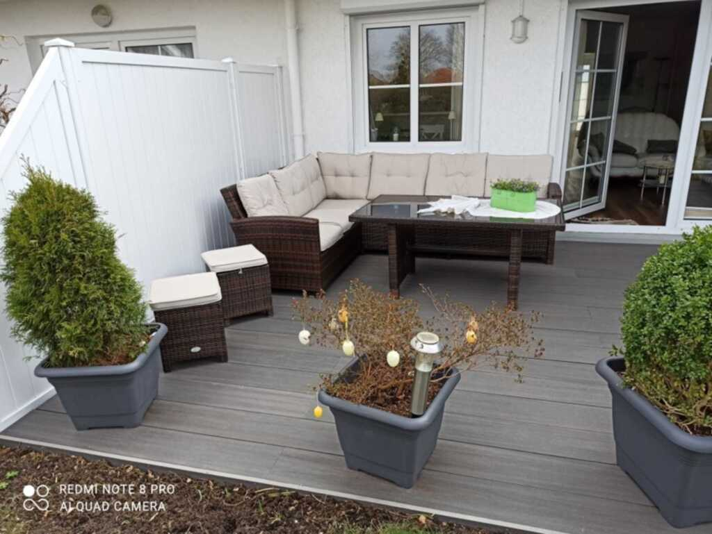 Eekkampresidenz Nr. 36 c, 2-Raum FeWo, 59 m², Terr
