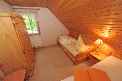 Blick in ein Kinderschlafzimmer