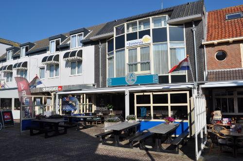 Unser Restaurant und Apartments.