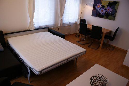 Schlafsofa 160 x 200 cm mit Lattenrost