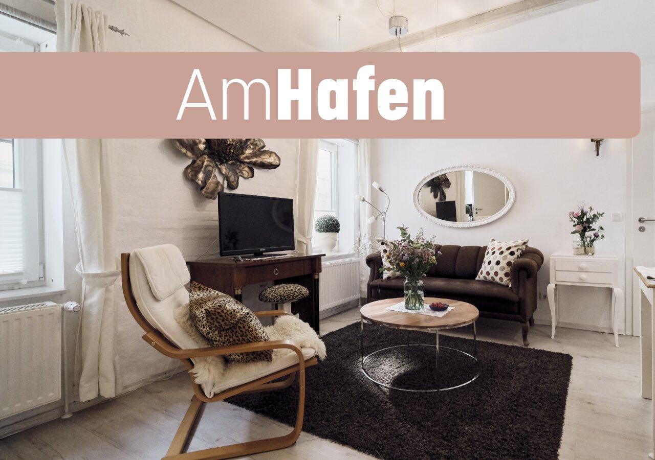 Histor. Kapit�nshaus mit Fewo 'Am Hafen'