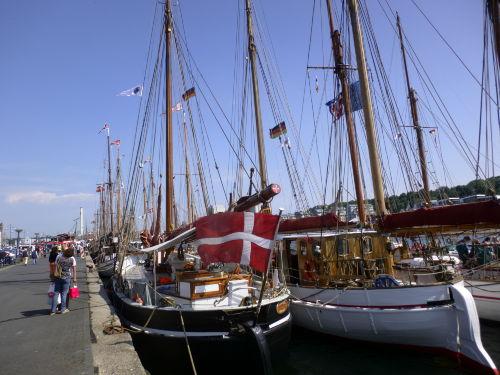 50m hinter uns: die Hafenpromenade