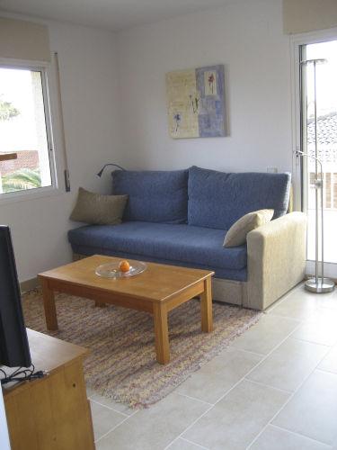 Ausziehbares Sofa im Wohnbereich