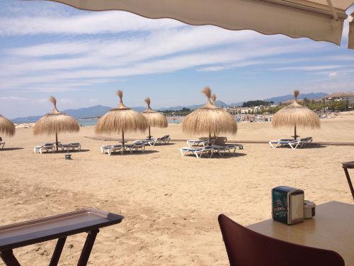 Karibisches Strandcafé