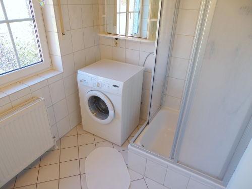 Komfortabel mit Waschmaschine