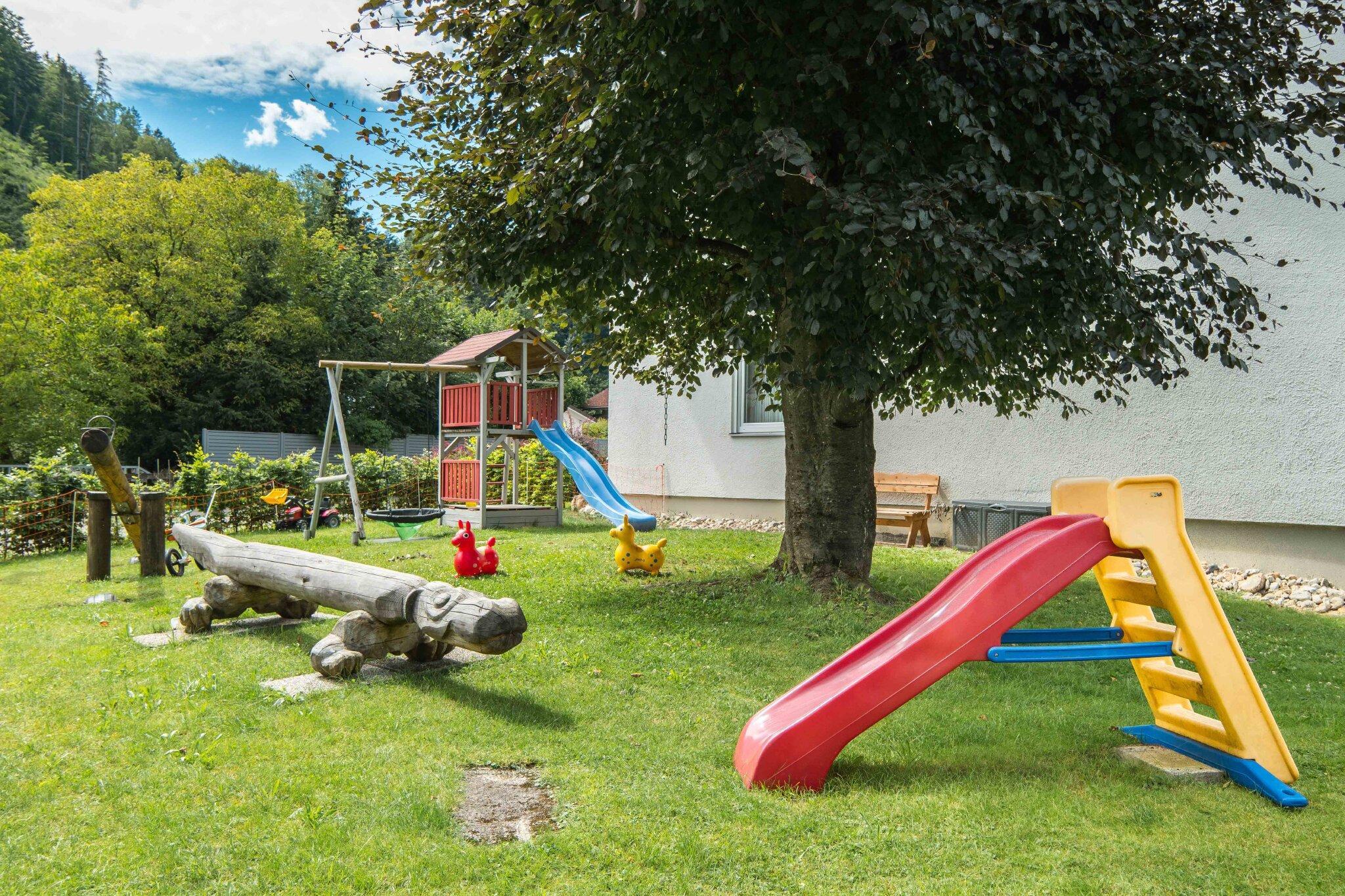 Kurpark und Musikpavilion in Oberaudorf