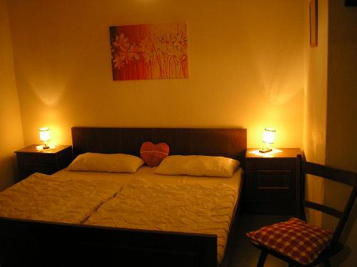 Schlafzimmer mit Blick zum Preber
