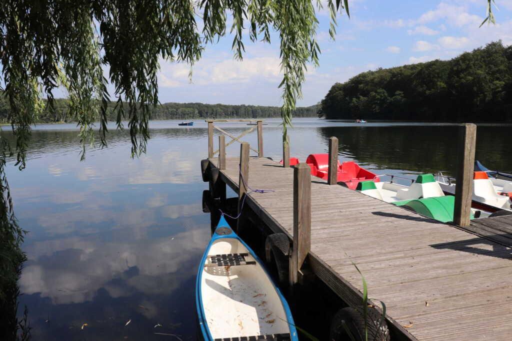 Feriendoppelhaush�lfte An Seen und Meer Whg. 03, A