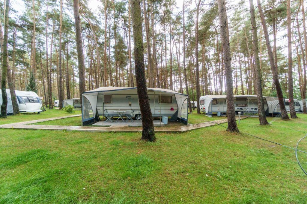 Urlaub im Wohnwagen - mitten im Wald, Wohnwagen 12