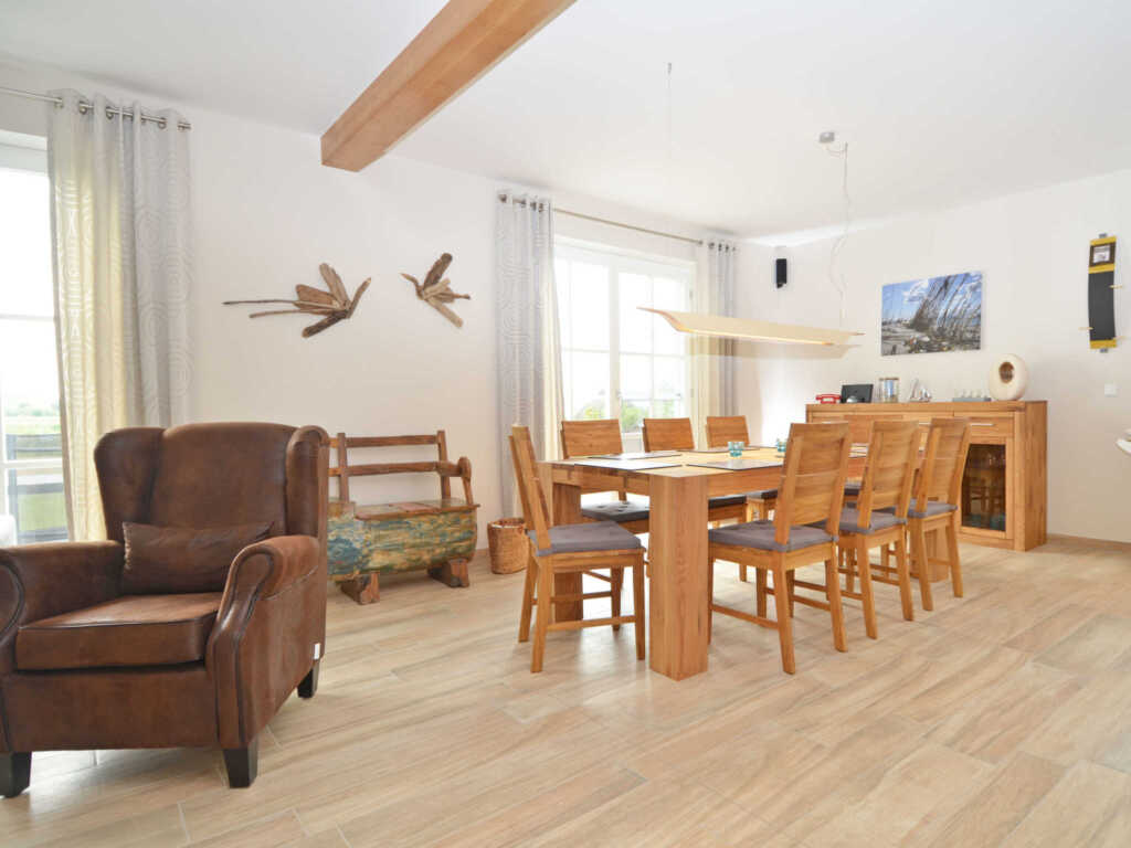 Haus Mönchgut F 609 Haushälfte 1 mit Terrasse + Ga