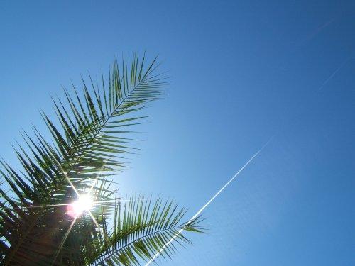 herrlich blauer Himmel