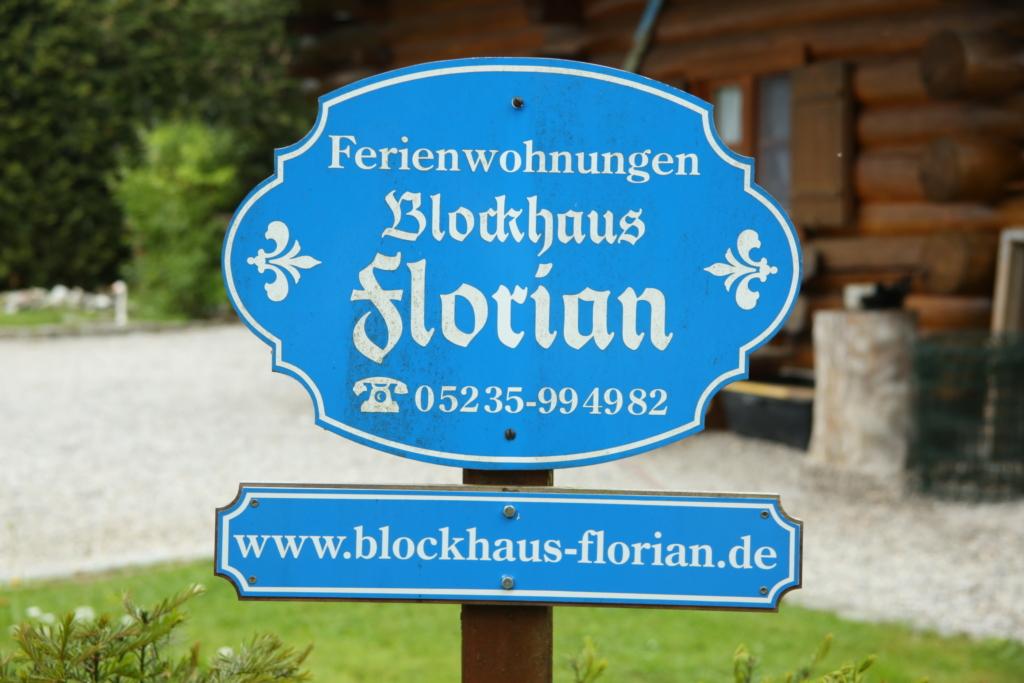 Blockhaus Florian, Ferienwohnung Erdgeschoss