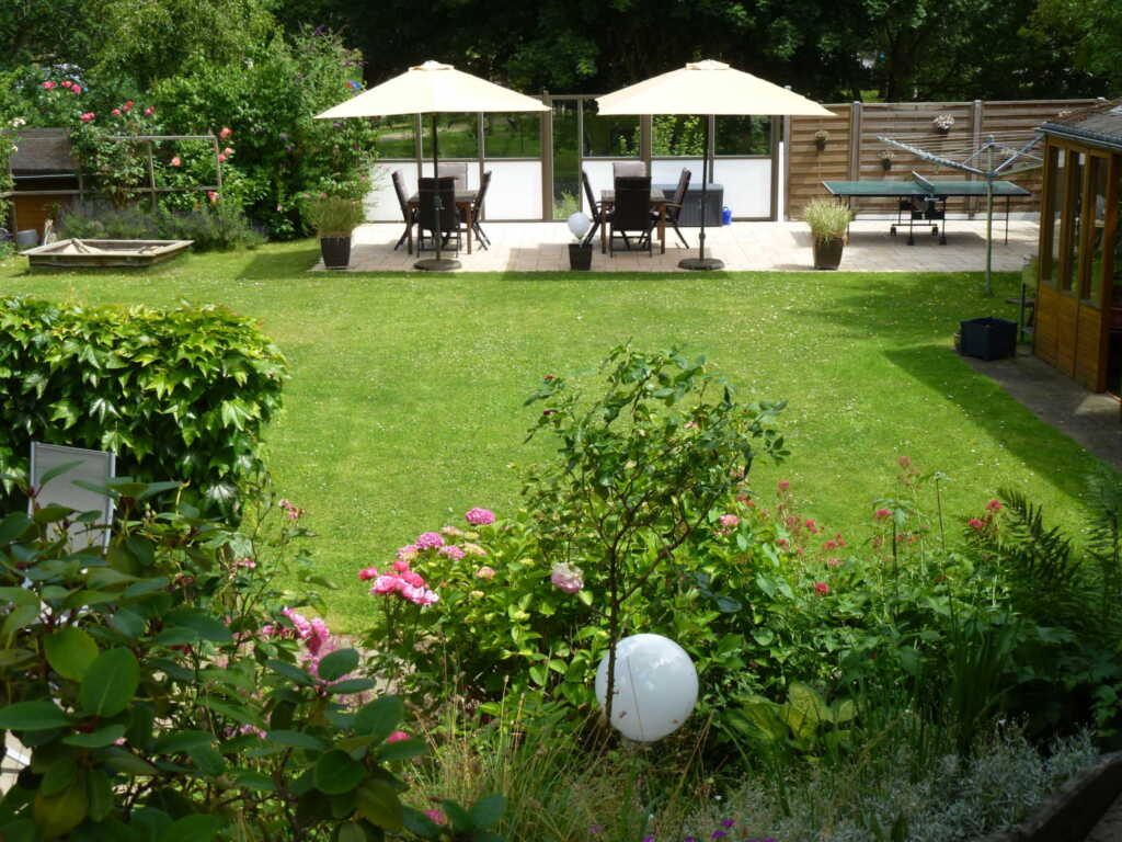 Gästehaus Müller, FeWo 4,2-Raum, 55 m², DG, Garten