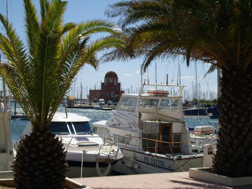 Der Yachthafen von Gruissan