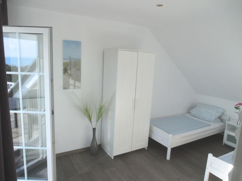 Gästehaus Vogelsang, VO 4; 2-Raum; 1.OG; Balkon; 4