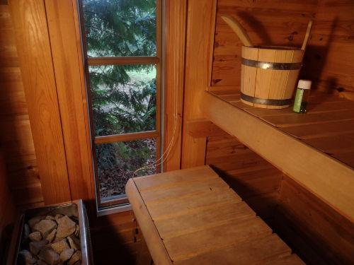 eigene Sauna im Haus