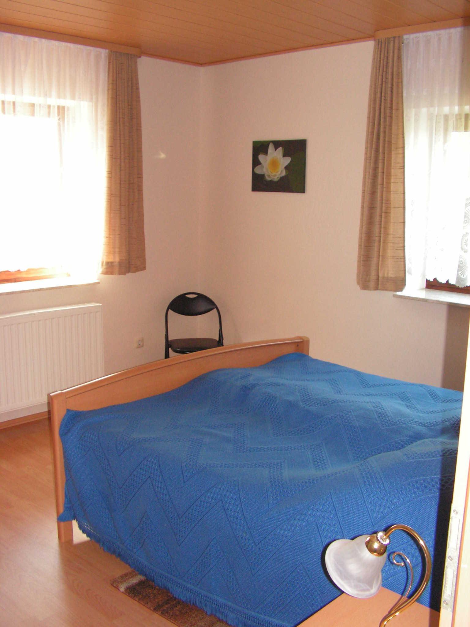 Schlafzimmer 4 mit Doppelbett