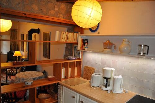 App. B, Blick von Küche in Wohnraum