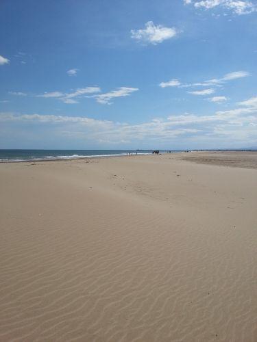 kilometerlanger Sandstrand