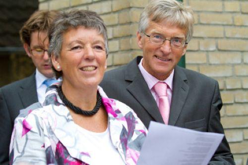 Eheleute: Feije und Anneke Sijbrandij.