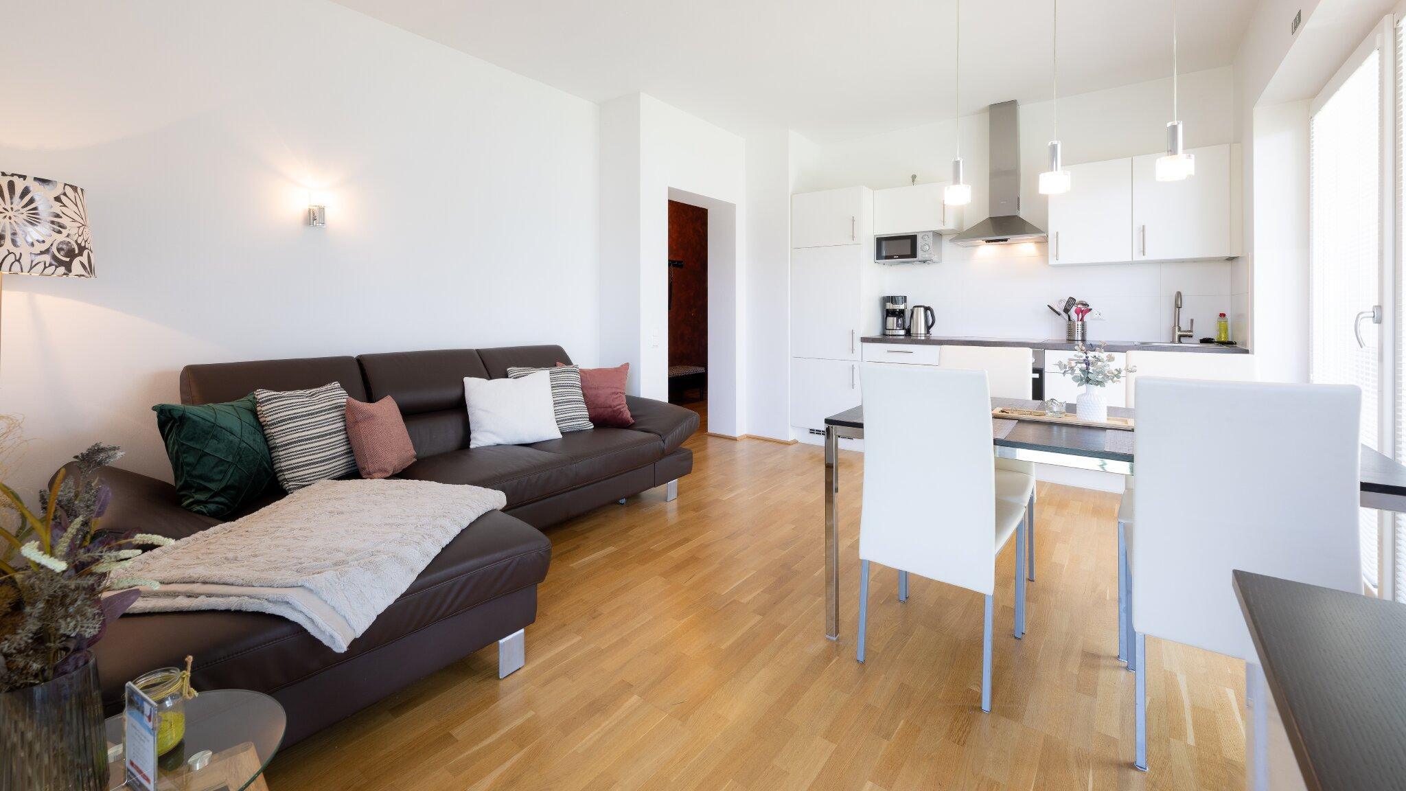 Wohnzimmer/Küche Haus 1