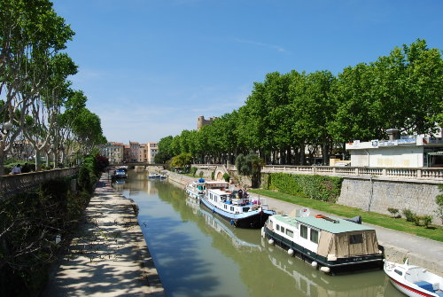 Canal de Robine in Narbonne
