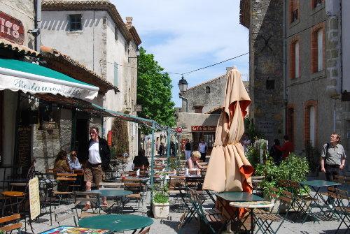 In der Cit� von Carcassonne