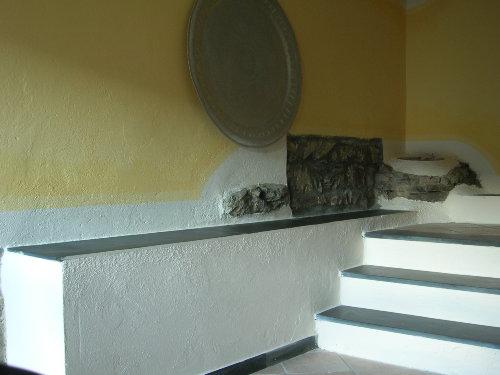 Treppe vom Wohnzimmer in die Kueche