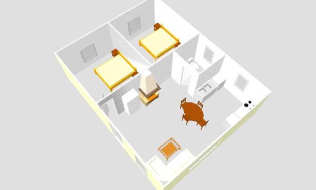 Ferienhäuser Seewiesen, Ferienhaus Nr. 5