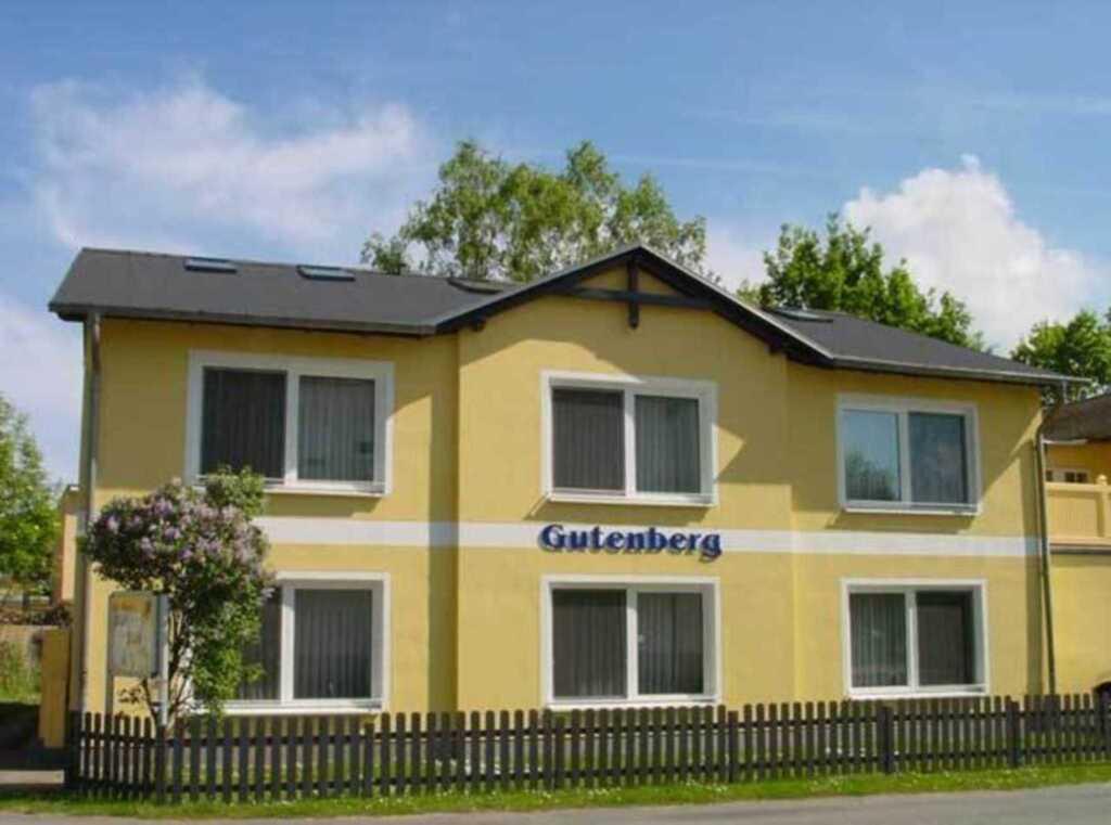 Appartementhaus Gutenberg, Z–– 1-Raum-Appartemen