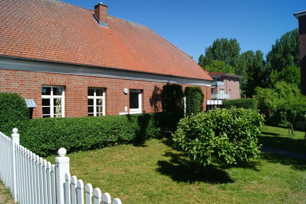 Hafenmeisterhaus 115 mit Terrasse+Strandkorb, Mais