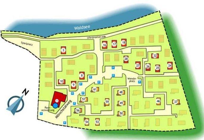 Waldsee Feriendienst, Nurdachhaus 30.03