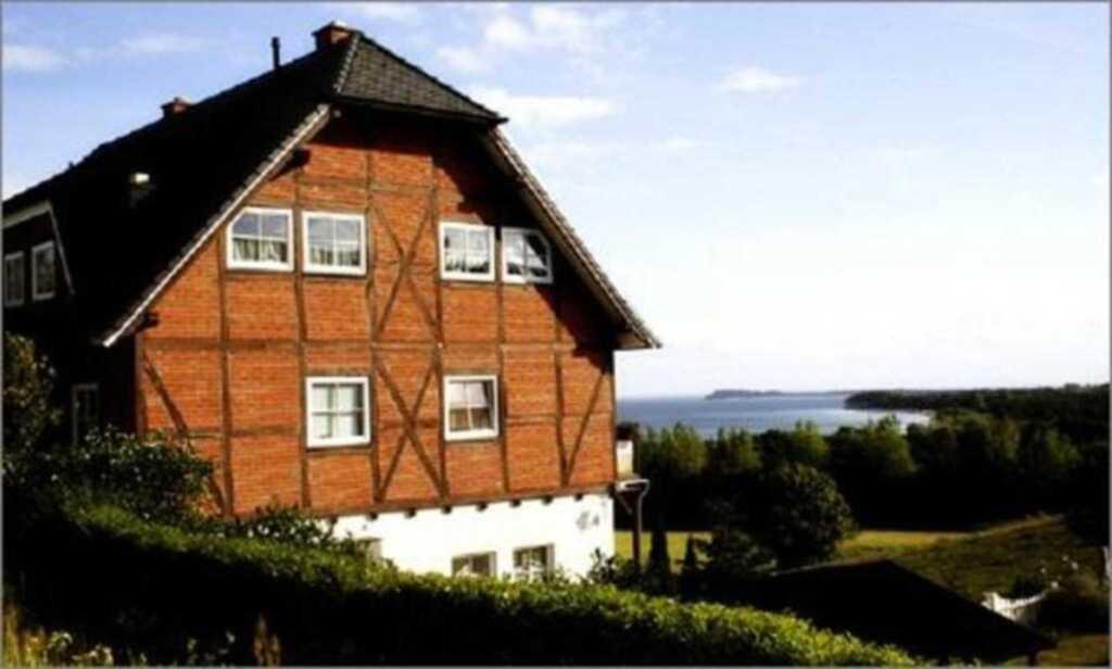 Villa Rudenblick Ferienwohnung mit Meerblick, 1 Ra