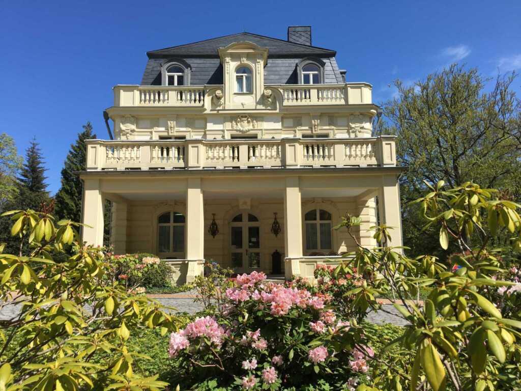 Gästehaus Bleichröder, DZ 9 Deluxe DZ mit Gartenbl