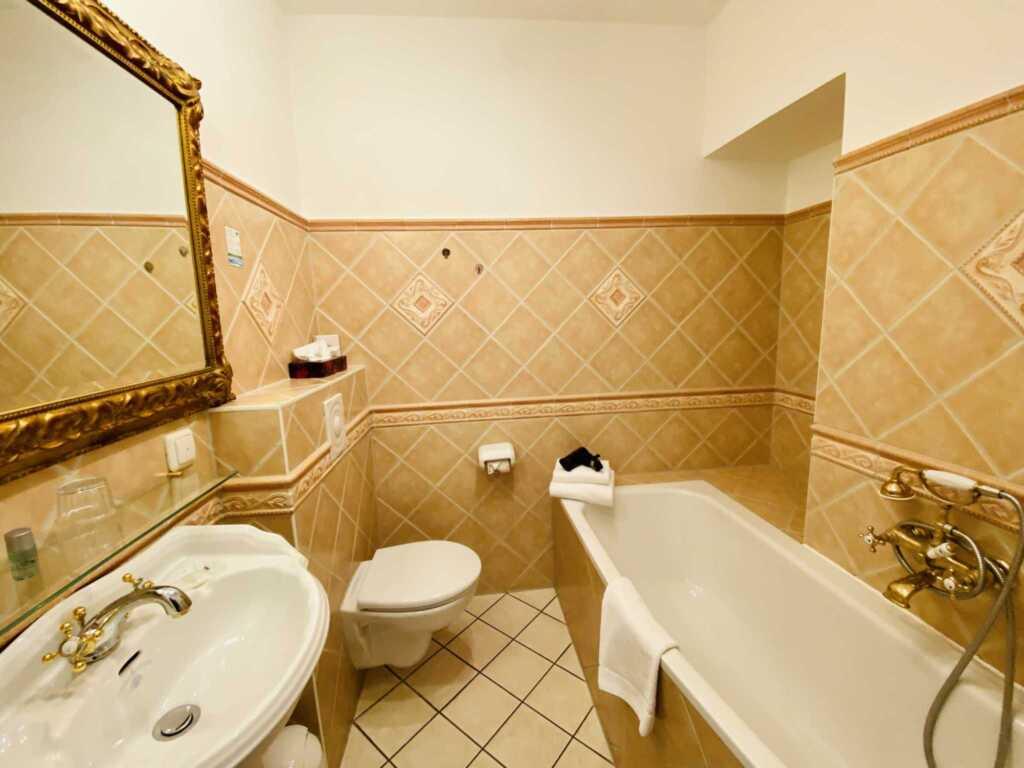 G�stehaus Bleichr�der, Einzelzimmer Nr. 5 mit Bade