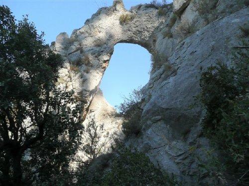 Felsenbrücke Bize