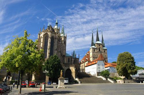 Altstadt von Erfurt (Dom & Severikirche)