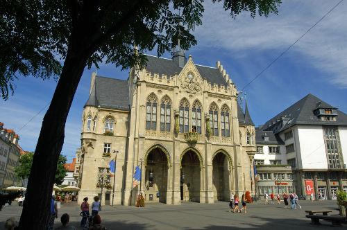 Erfurt, Rathaus am dem Fischmarkt