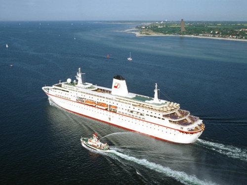 Kreuzfahrtschiff MS Deutschland