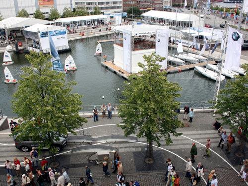 Innenstadt zur Kieler Woche