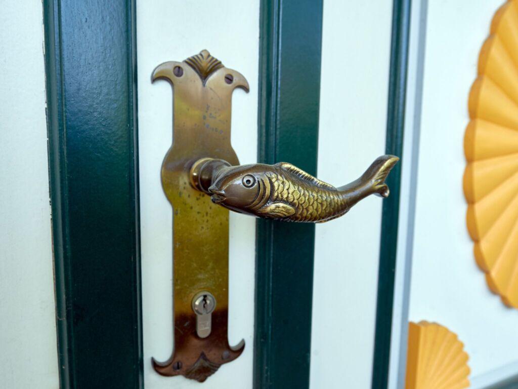 Kapit�ns Hus F613 Haush�lfte 2 m. Boddenblick, Sau