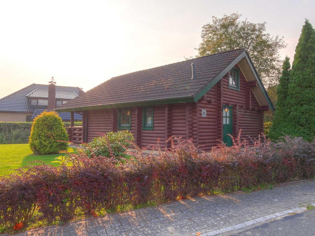 Haus Blockhaus - Nordseebad Burhave, Blockhaus #L5