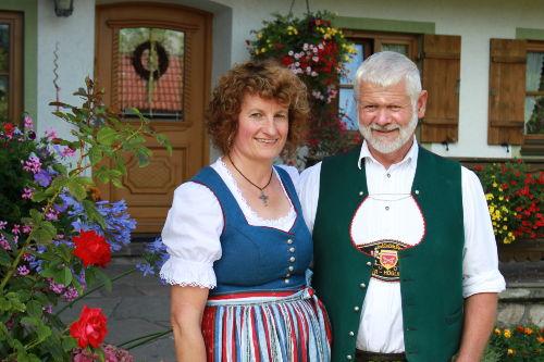 Ihre Gastgeber Marianne und Johann Kamml