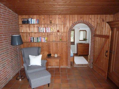 Die gemütliche Leseecke im Wohnzimmer