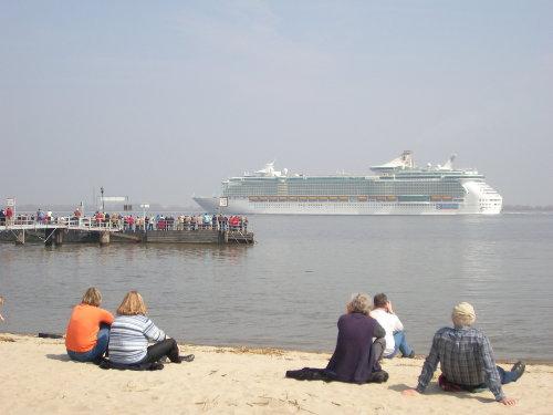 Traumschiffe vor Krautsand