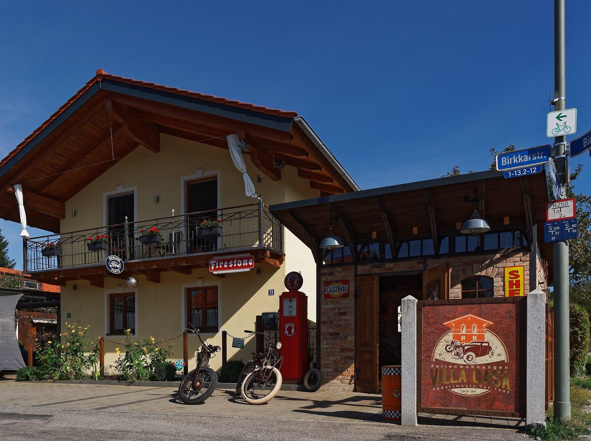 Gartenwohnung Villa Lucca