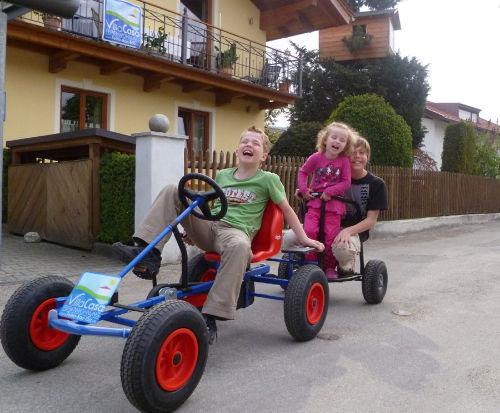 Die Kinder haben immer viel Spass