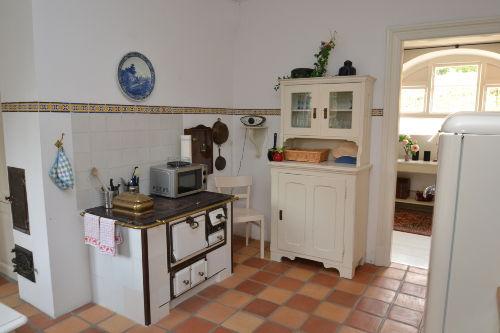 Urige Küche im traditionellen Stil